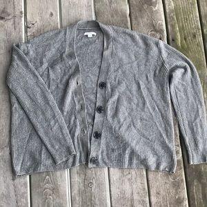 Boxy Sweater Cardigan American Eagle
